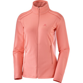Salomon Discovery LT Jacket Women red